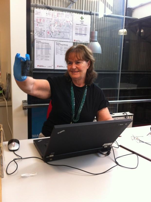 Marlene Cantwell, Museum volunteer
