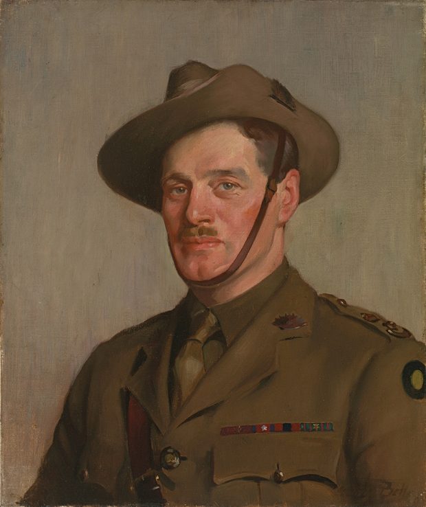 George Bell (1878–1966) Lieutenant Colonel Henry Murray 1919 oil on canvas Australian War Memorial collection. ART00101.