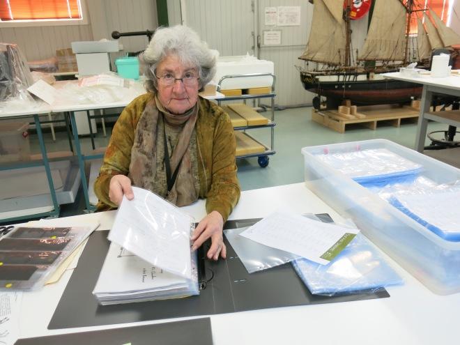 Margaret Barlow_Repackaging Thylacine research support materials#1_July2014