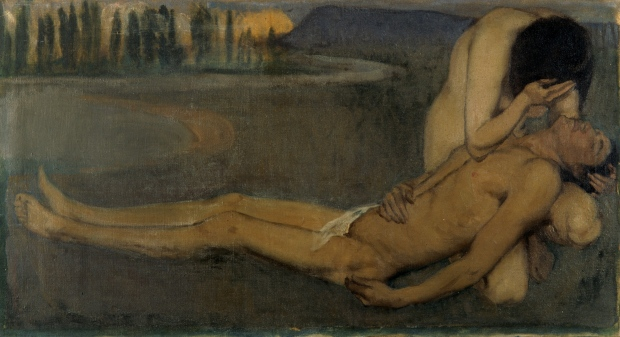 Hugh Ramsay Venus and Adonis (1901) oil on canvas  Donated by Lady Ramsay 1949
